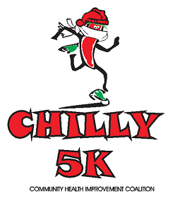 chilly 5k jalapeno at the starting line